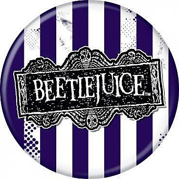 Beetlejuice Logo Button