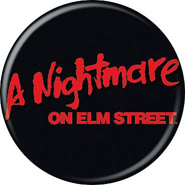 A Nightmare on Elm Street Logo Button