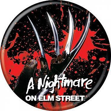 A Nightmare on Elm Street Claw Button