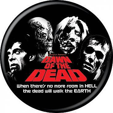 Dawn of the Dead Zombies Button
