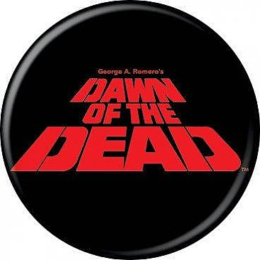Dawn of the Dead Logo Button