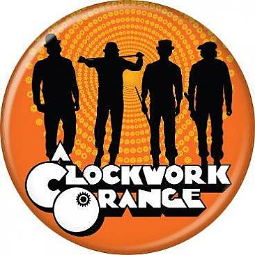 A Clockwork Orange Sillhouttes Button