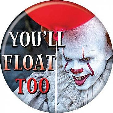 IT 2017 You'll Float Too Button