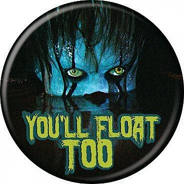 IT 2017 You'll Float Too Lurking Button