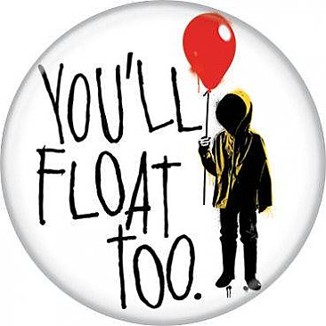 IT 2017 You'll Float Too Georgie Button