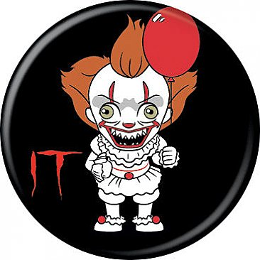 IT Pennywise Chibi Button