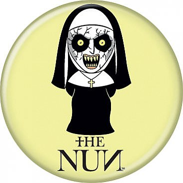 The Nun Chibi Button