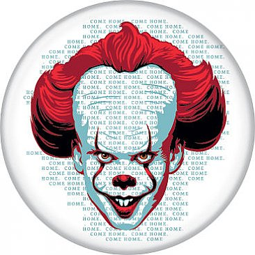 IT Pennywise on Words Button
