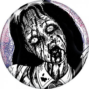 Junji Ito Marionette Mansion Button