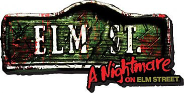 A Nightmare on Elm Street Sign Funky Chunky Magnet