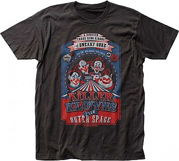 Killer Klowns From Outer Space Big Top Poster Shirt