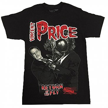 Vincent Price Return Of The Fly Shirt