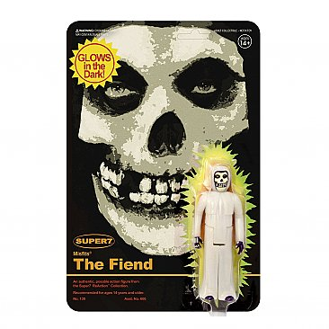 The Misfits The Fiend Glow-In-The-Dark ReAction Figure