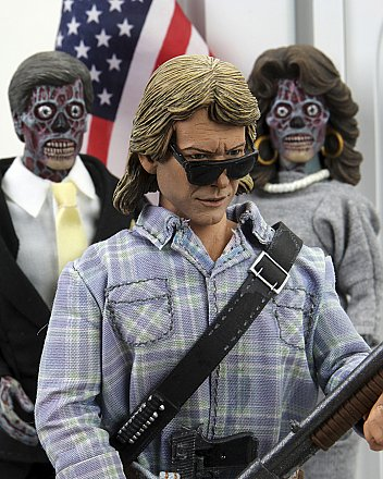 "They Live John Nada 8"" Clothed Action Figure"