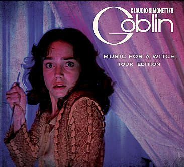 Claudio Simonetti's Goblin Music For A Witch CD