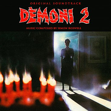 Demons 2 Original Soundtrack CD