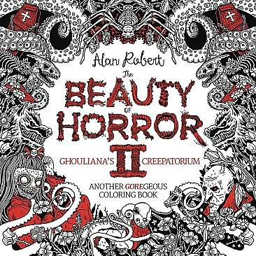 Beauty of Horror Goregeous Coloring Book Volume 2