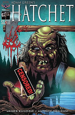 Hatchet #1 Rated MR For Horror Cover