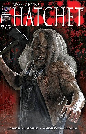 Hatchet #1 Photo Cover Limited Edition