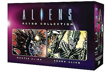 Aliens Retro Figure Collection #1 Mantis & Snake Set