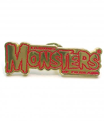 Famous Monsters of Filmland Enamel Pin