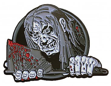 Tales From The Crypt Axe Crypt Keeper Enamel Pin