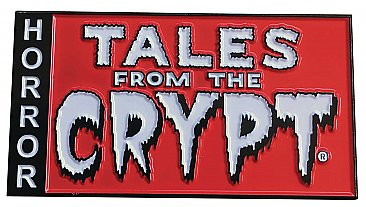 Tales From The Crypt Logo Enamel Pin