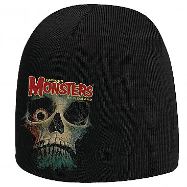 Famous Monsters of Filmland Fearbook Skull Beanie