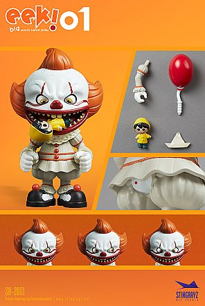 Stingrayz EEK Series 1 IT Pennywise Figure