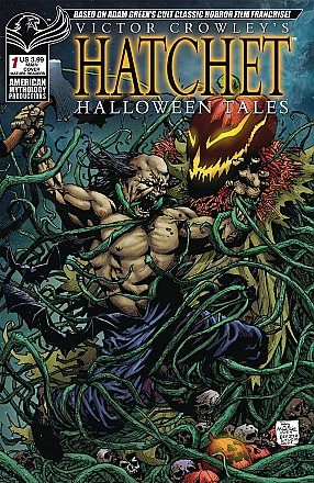 Victor Crowley Hatchet Halloween Tales #1 Main Cover