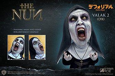 The Nun Valak Open Mouth Defo-Real Soft Vinyl Statue
