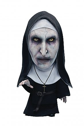 The Nun Valak Closed Mouth Defo-Real Soft Vinyl Statue