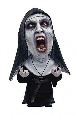 The Nun Valak Open Mouth Defo-Real Soft Vinyl Statue Deluxe Version