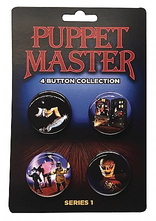 Puppet Master Button Collection