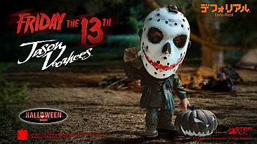 Friday the 13th Jason Defo-Real Vinyl Statue Halloween Version