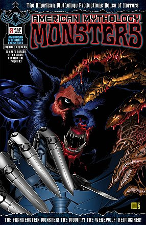 American Mythology Monsters #3 Cover A