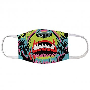 Shock Wolf Face Mask