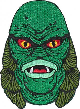 Universal Monsters Creature from the Black Lagoon Head Patch