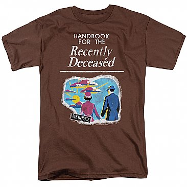 Beetlejuice Handbook for the Recently Deceased Shirt