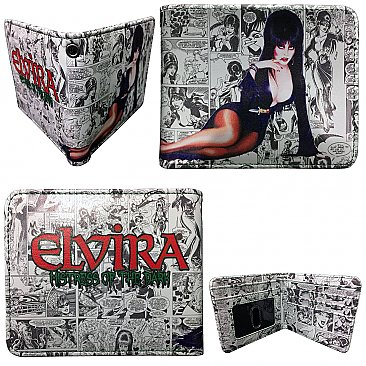 Elvira Comic Strip Wallet