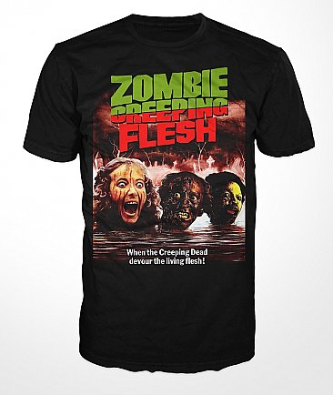 Zombie Creeping Flesh Shirt