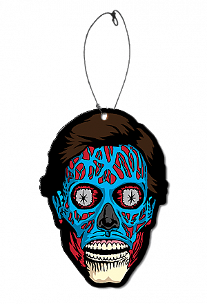 They Live Alien Color Air Freshener