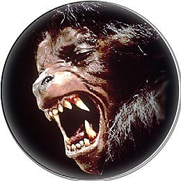 An American Werewolf in London Button