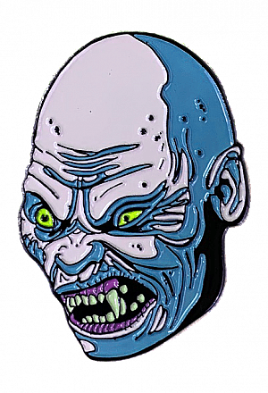 An American Werewolf In London Bald Demon Enamel Pin