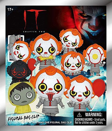 IT Chapter 2 Figural Foam Bag Clips Blind Bags
