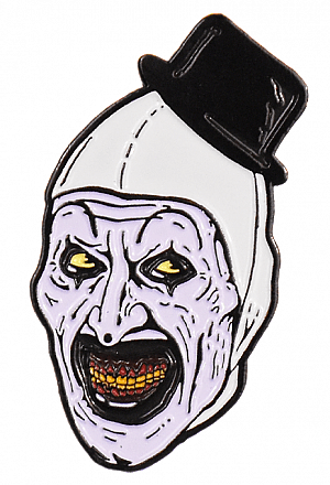 Terrifier Art the Clown Enamel Pin