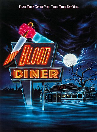 Blood Diner Sticker