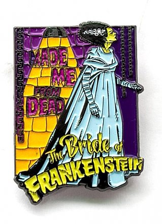 Universal Monsters Bride of Frankenstein Enamel Pin