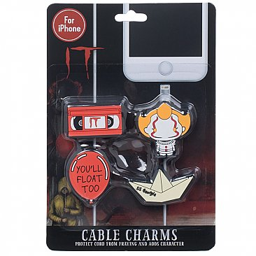 IT Pennywise Rubber Cable Charms