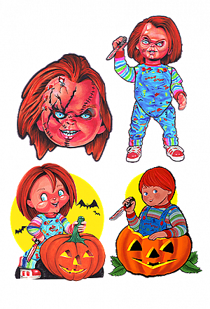 Child's Play Halloween Wall Decor Series 1